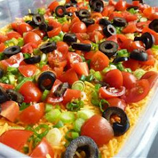 Seven Layer Tex Mex Dip