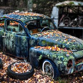 by Dirk Rosin - Transportation Automobiles ( lr-bearbeitet, hdr bearbeitet, bil, bilvrak, oldtimer,  )