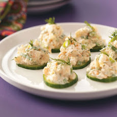 Cucumber Shrimp Appetizers Recipe
