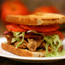 Dinner Tonight: Fried Oyster and Bacon Sandwich