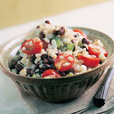 Barley and Black Bean Salad