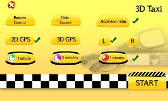 Screenshot of 3D Taxi