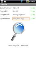 Screenshot of Simple Pinger