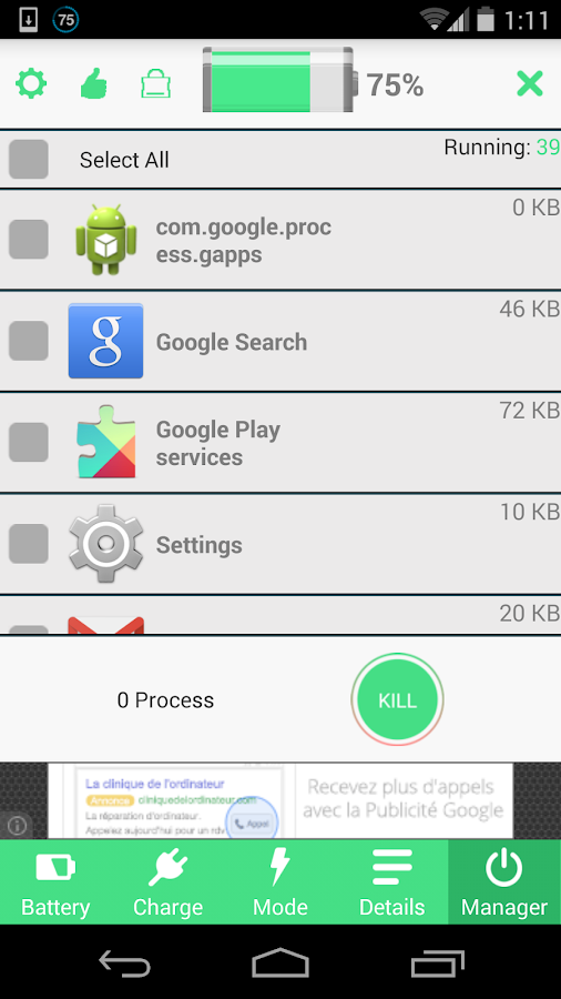 Battery Saver HD Screenshot 5