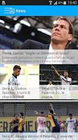 Screenshot of Diretta calcio