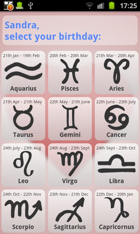 Zodiac dating quiz