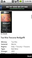 Screenshot of Wine Guru