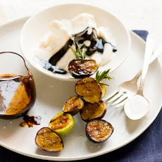 Grilled Fig Sundaes with Balsamic