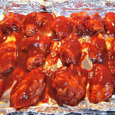 Kitchen Sink BarBQ Wings