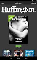 Screenshot of Huffington.