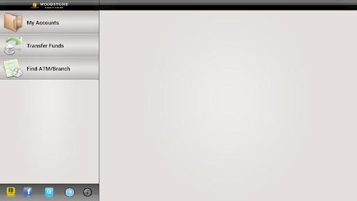 Woodstone CU Banking - Tablet