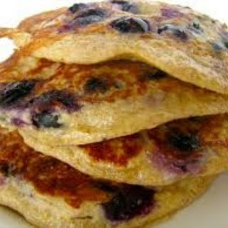 DASH Blueberry Oat Pancakes
