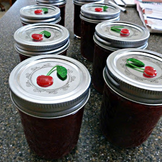 Sour Cherry Jam with Low Sugar