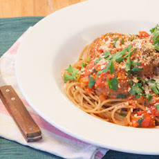 Whole Wheat Spaghetti with Naturally Raised Beef Meatballs