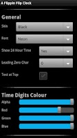 Screenshot of A Flippin Flip Clock DEMO