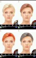 Screenshot of Hair Color