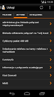 Screenshot of Mój Orange