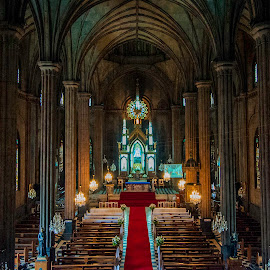 San Sebastian Church, Manila by Victor Roman - Buildings & Architecture Places of Worship ( church, hdr, nikon d300, nikon, manila,  )