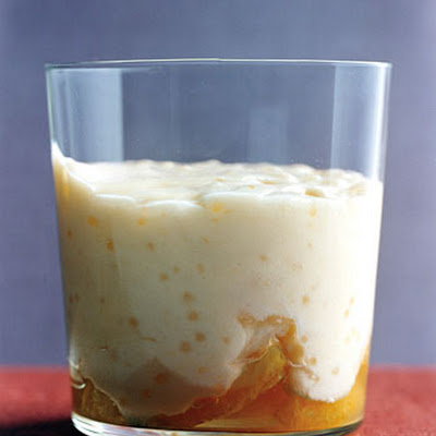 Orange Tapioca Pudding