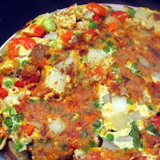 Anne Willan's Summer Vegetable Frittata