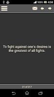 Screenshot of Words of Imam Ali