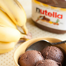 Nutella-Banana Ice Cream