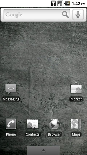 Grayscale Droid Theme