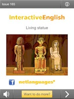 Screenshot of Interactive English
