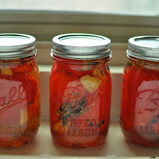 Pickled Red Tomatoes