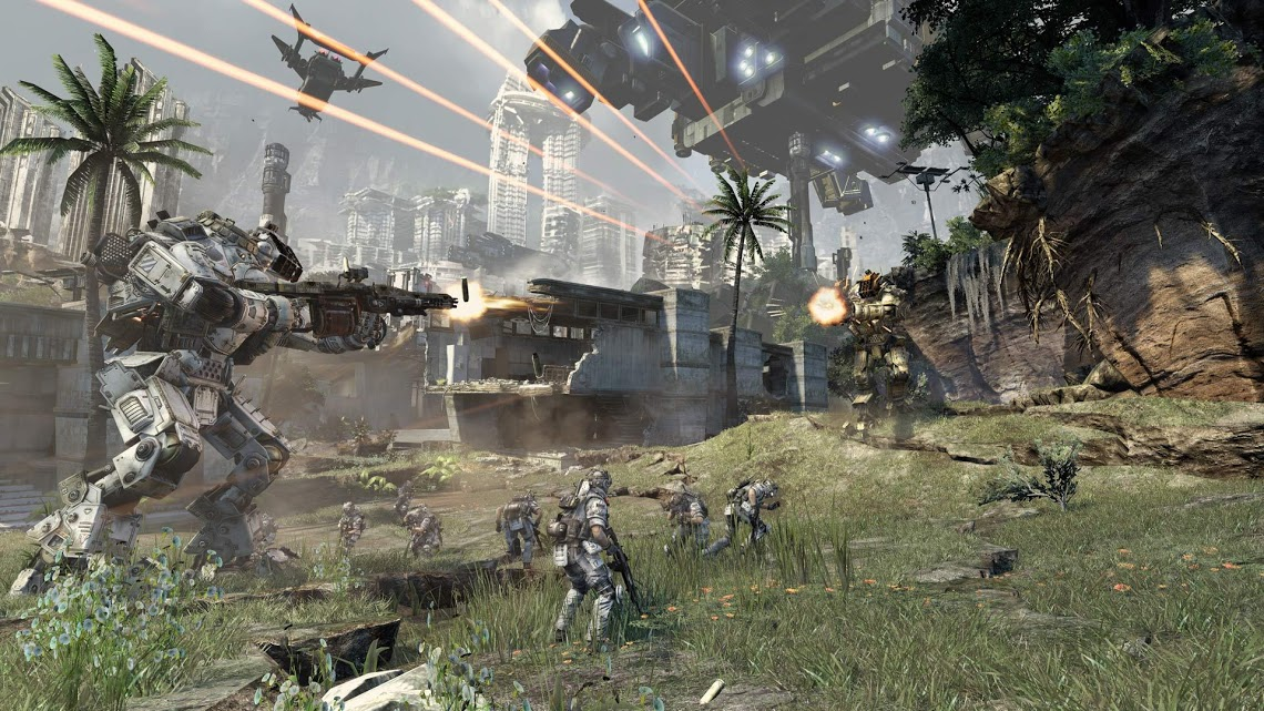 Each TitanFall map will have its own multiplayer mode