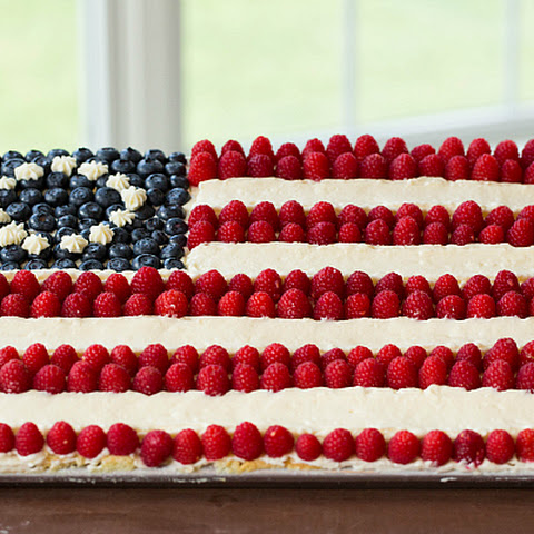 Flag Cake (From Scratch)