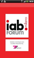 Screenshot of IAB Forum Milano 2012