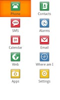 Screenshot of Mobile Accessibility Demo CS