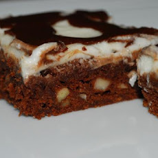 Peppermint Chocolate Brownies