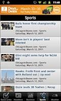 Screenshot of Chicago Local News