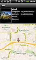 Screenshot of Phone Tracker-IM Map Nav. LE