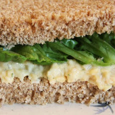 Vegetarian Chickpea Sandwich Filling
