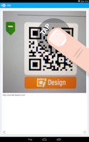 Screenshot of QR Code Reader from Kaywa