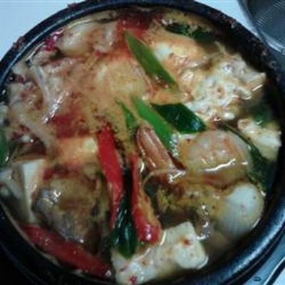 Korean Soft Tofu Stew (Soon Du Bu Jigae)