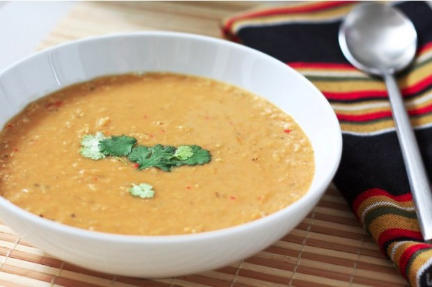 Spiced Coconut Lentil Soup Recipe | Yummly