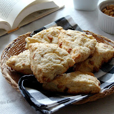 Butterscotch Coconut Scones