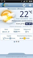 Screenshot of Pogoda TVN Meteo