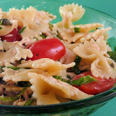 Farfalle With Tuna in a Basil Lemon Dressing
