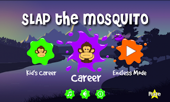 Screenshot of Slap the Mosquito
