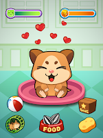 Screenshot of My Virtual Hamster - Cute Pet
