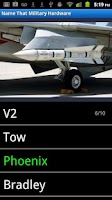 Screenshot of Name That Military Hardware