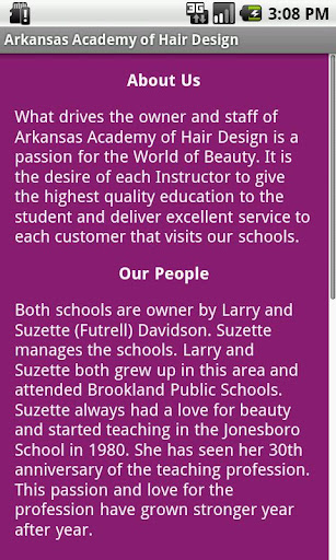 玩教育App|Arkansas Academy Hair Design免費|APP試玩