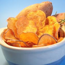 Cinnamon Sweet Potato Chips