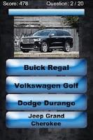 Screenshot of 2013 Vehicle Trivia Challenge