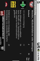 Screenshot of Bussgeldkatalog